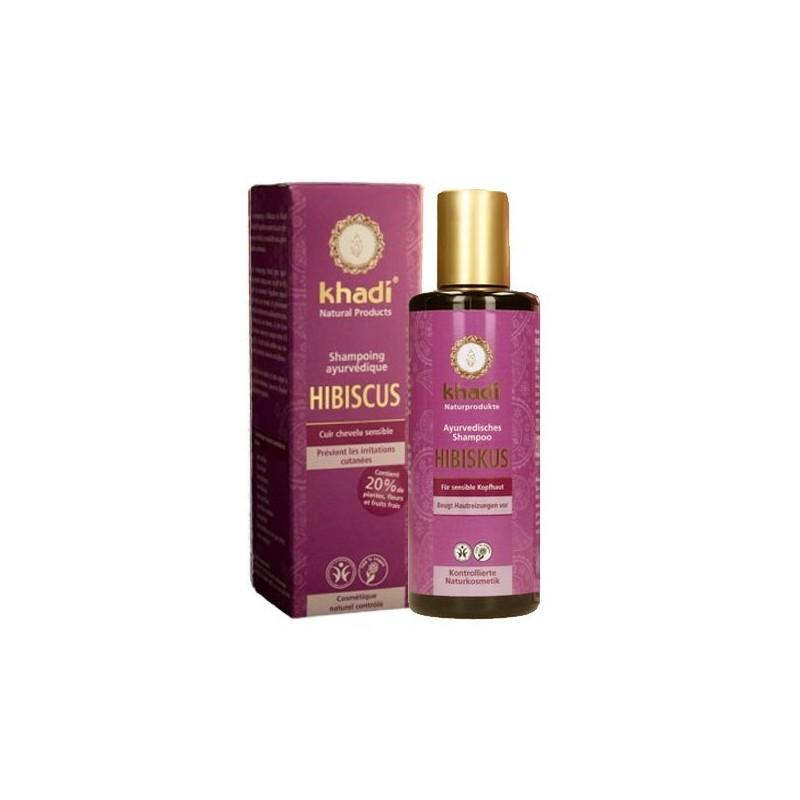 Shampoing à l'Hibiscus-irritations