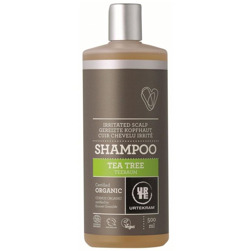 Shampoing pour cuir chevelu irrité au tea tree BIO
