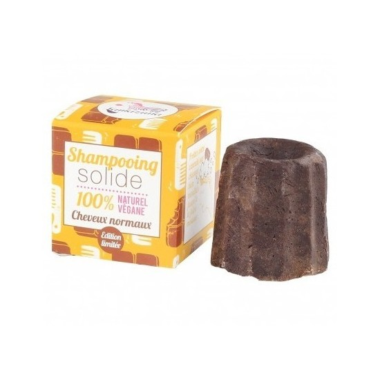 Shampooing solide cheveux normaux au chocolat - 55 g (Lamazuna)