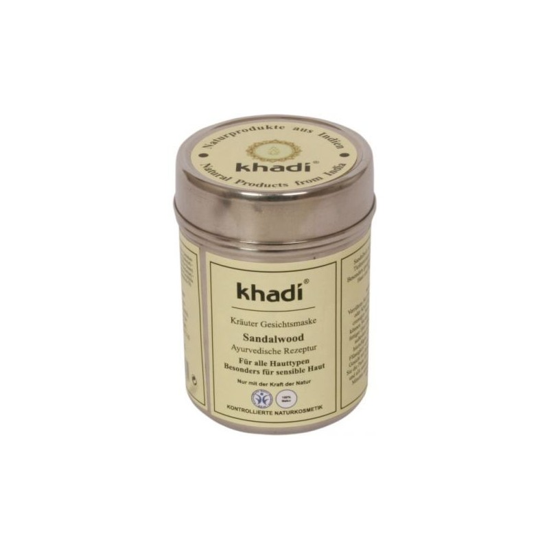 Masque bois de santal Khadi