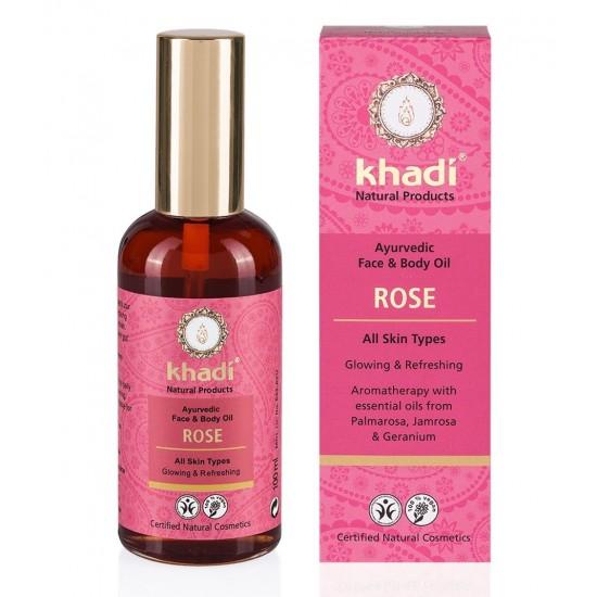 Huile ayurvédique à la Rose Khadi