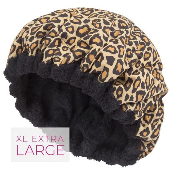 Bonnet léopard XL