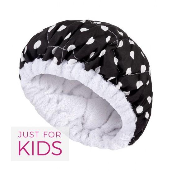 Bonnet chauffant petits pois pour enfant